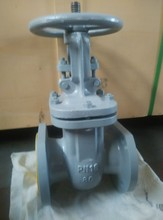 cast steel gost stem flanged gate valve dn250