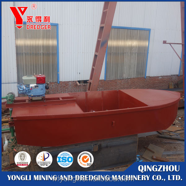 Yongdeli Self un-loading barge 150m3 for sale