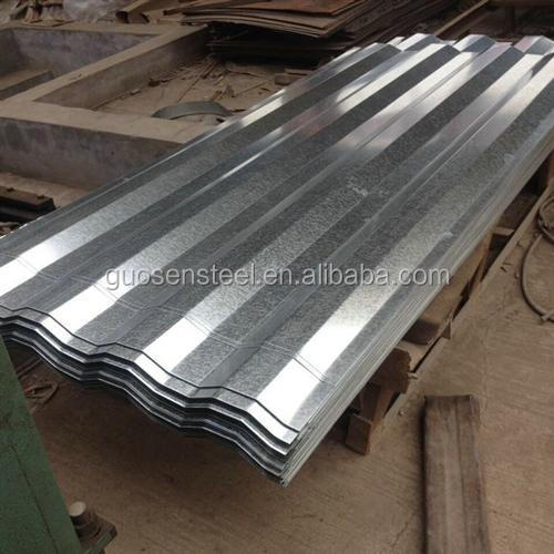 galvanized corrugated sheet metal/ gi corrugated sheet unit weight/ galvanized iron sheet metal
