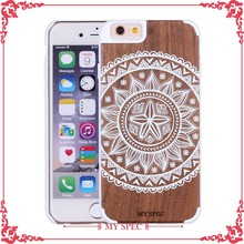 2016 Newest Design Full Wood bamboo phone case for iphone 6 6s plus
