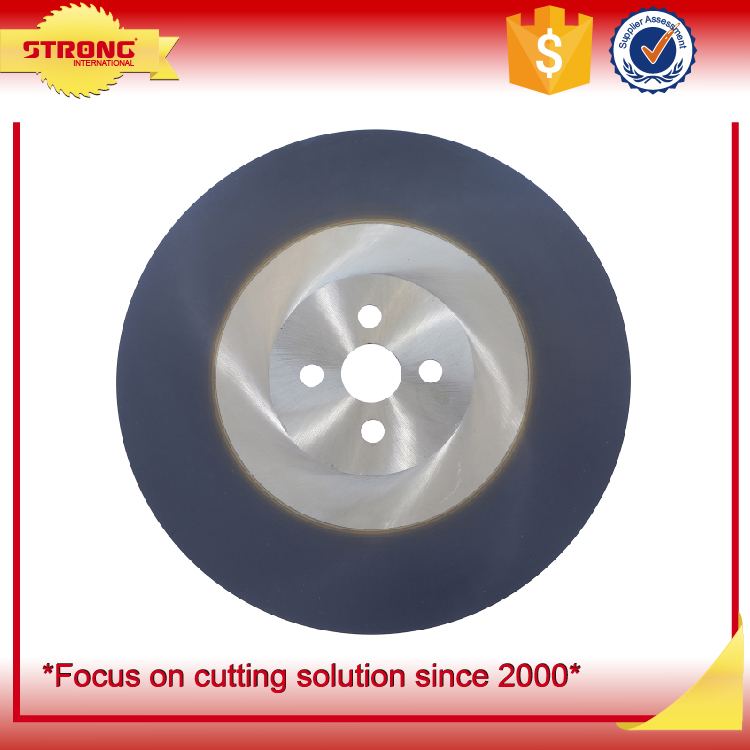 steel cutting HSS circular saw blade for cutting carbon steel
