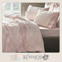 Embroidery lace embroidery polycotton embroidered handmade bed sheets