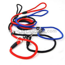 P Chain Pet Leash Dog Leash Nylon Material Colorful Dog Slip Lead E005