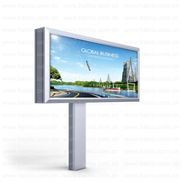 Customized Street Outdoor Led Scrolled Light Box City Light Poster