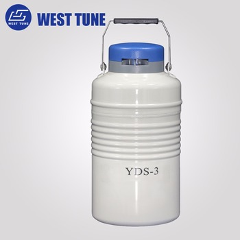 YDS-3 Small Capacity Biological Cryogenic Liquid Nitrogen Containers For Storage with competitive price