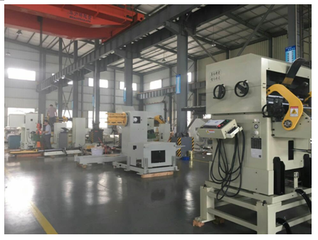 Punching stamping press feeder line hot sale price 2 in 1 Precision Uncoiler & Straightener