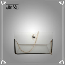 New trend design lady bag noble chain clutch bag