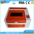 mini desktop 40w co2 laser tube engraving acrylic machine NC-S4040