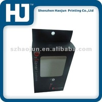 Paper Box With PVC Window For