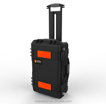 Ningbo Everest RPC2323 Waterproof Plastic trolley case first aid case with wheels Trolley Tool Box