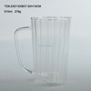 SCIEC cylinder shaped heat-resistance glass pitcher