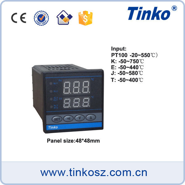 TINKO 1/16 DIN Rail PID Temperature Controller, Microprocessor Based Thermostat Controller Relay Output