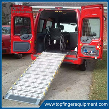 Factory price roll aluminium Portable wheelchair ramp parts