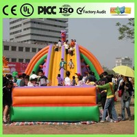 0.55mm PVC lovely mini inflatable house bouncy,inflatable jumping games for girl