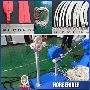 Most popular electrical wire insulation sleeve extrusion line factory price