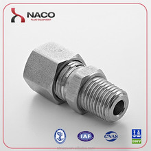China supplier high quality hydraulic stainless steel hose end press fitting