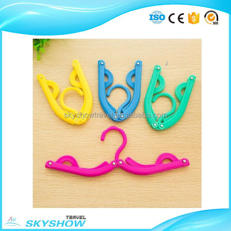 Cost price Recycled cute folding coat hanger