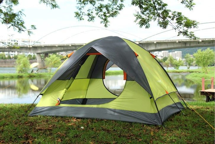 Double Layer Family Camping Tent for sale