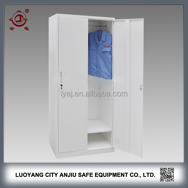 Double door steel metal clothes locker