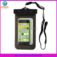 Hot selling Mobile phone waterproof bag, phone waterproof case,2014 Custom Moblie Waterproof Bag