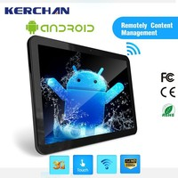 18.5 Inch tablet pos , android 4.4 tablet ,screen wall unit