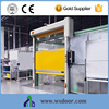 China Supplier Adjustable speed Dustproof Fast Plastic Roller Door