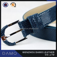 Fashion cowhide leather belt for women