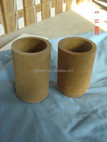Magnesia ceramic boat/pot/ mgo crucible for melting high temperature melt