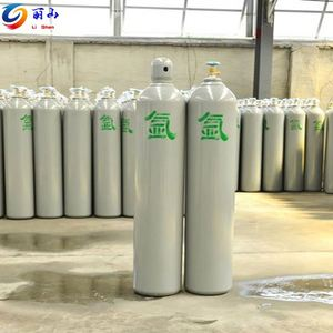 favorable price ISO9809-3 7L steel oxygen/nitrogen/co2 gas cylinder blank with valve and cap