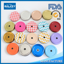 custom mason jar lids printed factory manufacture