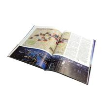 Low cost soft cover book overseas magazines printing