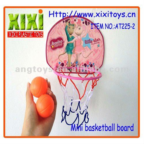 4Pcs New Sport Toy Kids Funny Design Mini Toy Basketball Board