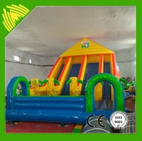 Hot selling 0.55 mm PVC indoor mini bouncy castle for sale