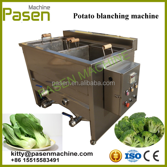 Electric blanching machine / broad bean blanching machine / Fruit blancher machine