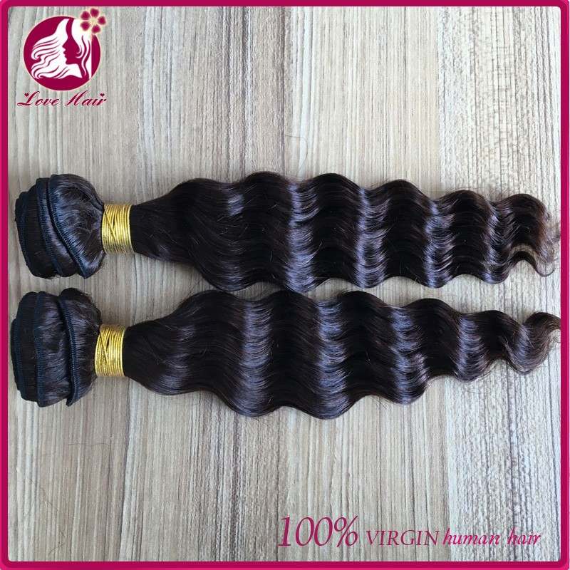 hot beauty loose curly customized indian hair wholesale weave human hair