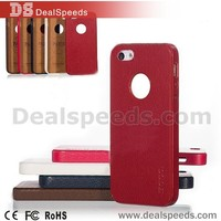 Hoco Leather Back Cover Case for iphone 5/SE/5S