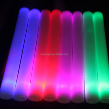light up tube soft baton blinking rock multi color flashing stick led foam sticks