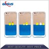 New arrival cooktail liquid TPU mobile phone case for iphone 6 waterproof phone case