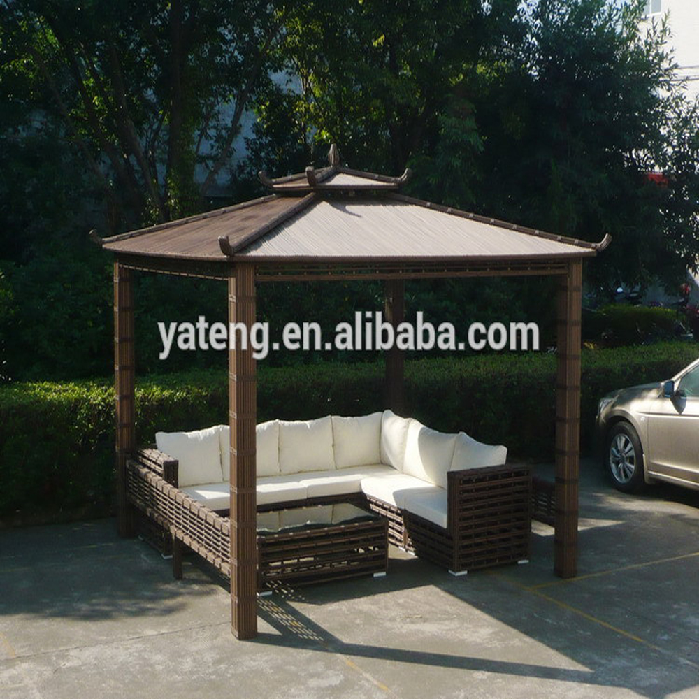Wicker garden gazebo 2m gazebo tents 4x4 for sale