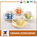 hand painted wholesale ceramic coffee & tea sets