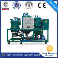 Low temperature distillation automatic operation system waste oil filter system