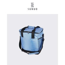 OEM Portable Customized Logo Insulated Cooler Bag With Zipper