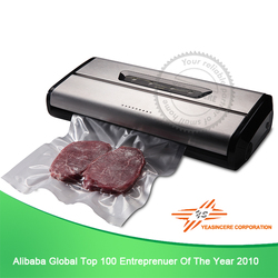 Individual heating and sealing function is available beverage vacuum sealer