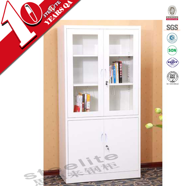steel godrej cupboard / glass door chemical storage cabinet / cheap metal filing cabinet