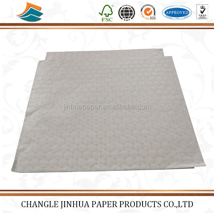 hamburger wrapping aluminum foil packing paper for food/wrapping paper for food