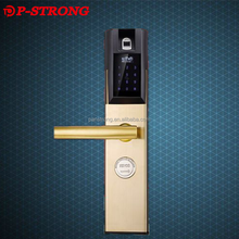 Silver and Gold Color APP Remote Unlock Safety Locks for Doors for the Security Door