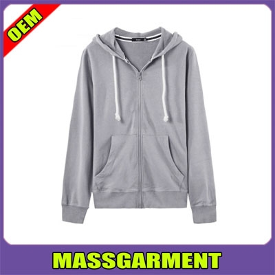 2015 wholesale plain polyester/cotton pullover hoodie , Man custom fleece hoodie