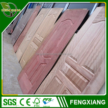 2016 AAA Grade 2mm -5mm MDF mould door skin / wood veneer door skin