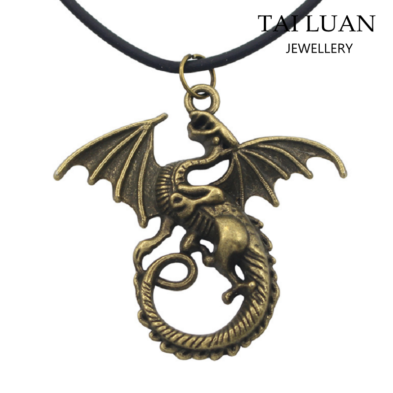 Game of thrones necklace song of ice and fire necklace choker dragon necklace