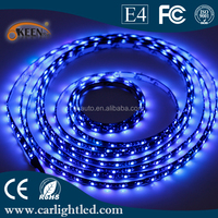Black PCB 1210 300 SMD Waterproof DC12V Led Holiday Decoration Light Color changing Led Flexible Strips Soft Lights